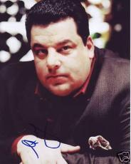 Steve Schirripa *sopranos* Bobby Baccalieri 8x10 W/coa