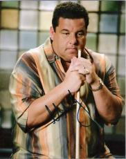 "STEVE SCHIRRIPA ""SOPRANOS"" Signed 8x10 Color Photo"