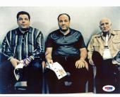 Steve Schirripa The Sopranos Signed 8X10 Photo PSA/DNA #M42456