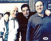 Steve Schirripa The Sopranos Signed 8X10 Photo PSA/DNA #M42457