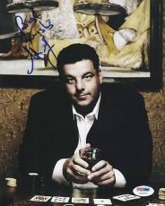 Steve Schirripa The Sopranos Signed 8x10 Photo Psa/dna #u65970