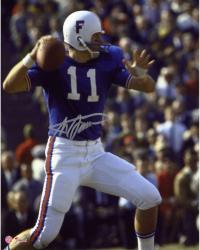 """Steve Spurrier Florida Gators Autographed 8"""" x 10"""" Quarterback Photograph"""