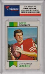 Steve Spurrier San Francisco 49ers 1973 Topps #481 Card