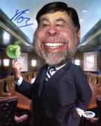 "Steve Wozniak ""Woz"" Apple Signed 8X10 Photo PSA/DNA #W87112"