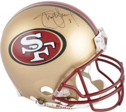 Steve Young Autographed Authentic Helmet - Mounted Memories
