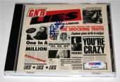 "Steven Adler Guns N Roses ""GN'R LIES EXCLUSIVE"" Signed CD PSA/DNA COA"
