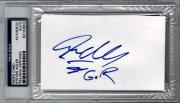 Steven Adler Guns N Roses GNR Signed 3x5 Index Card PSA/DNA COA