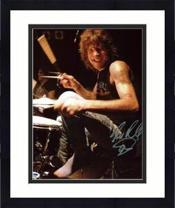 Steven Adler Guns N' Roses Signed 11X14 Photo PSA/DNA #Q45385