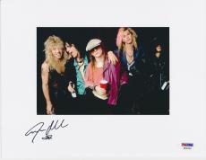 Steven Adler Guns N Roses Signed 8x10 Photo Psa/dna K04922