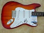 Steven Adler Guns Roses Signed Autographed Electric Guitar BAS Beckett Certified