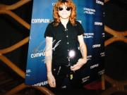 Steven Adler Signed 8x10 Photo Guns And Roses Gnr
