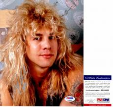 Steven Adler Signed - Autographed GUNS N ROSES DRUMMER 8x10 inch Photo with PSA/DNA Certificate of Authenticity (COA)