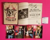 Steven Adler Signed Book My Appetite For Destruction Bas Coa Proof Guns N Roses
