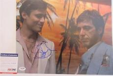 Steven Bauer Signed 11x14 Photo Full Auto Scarface  Psa/dna T93021
