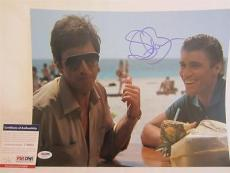 Steven Bauer Signed 11x14 Photo Full Auto Scarface  Psa/dna