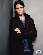 Steven R. McQueen SIGNED 8x10 Photo The Vampire Diaries PSA/DNA AUTOGRAPHED