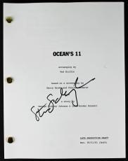 Steven Soderbergh Signed Ocean's 11 Movie Script PSA/DNA #AA82761