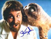"""Steven Spielberg Autographed 11"""" x 14"""" E.T. Photograph 3 - BAS COA"""