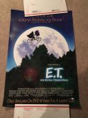 Steven Spielberg Autographed Signed 27x40 E.T. Movie Poster JSA Certified