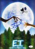 Steven Spielberg Drew Barrymore Et Signed Jsa 9x12 Photo Authentic Autograph
