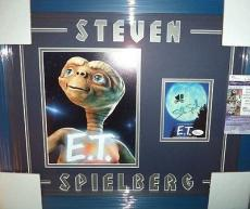 Steven Spielberg E.t Movie Phone Home Jsa Coa Signed Auto Double Matted Framed A