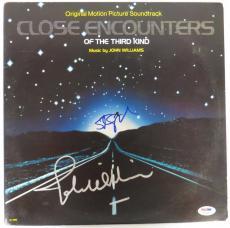 Steven Spielberg & John Williams Signed Close Encounters Auto Record Album PSA