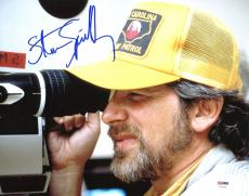 Steven Spielberg Jurassic Park Signed 11X14 Photo PSA/DNA #V27730