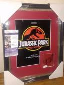 Steven Spielberg Jurassic Park Signed Autograph 13x16 Matted & Framed Jsa Coa A