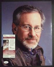 Steven Spielberg Movie Legend Signed Autographed 11x14 Photo Jsa Coa #f43637