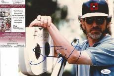 Steven Spielberg Movie Legend Signed Autographed 8x10 Photo Jsa Coa #h87814