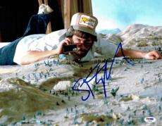 Steven Spielberg Raiders Ark Autographed Signed 11x14 Photo Certified PSA/DNA
