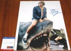 Steven Spielberg Signed 11x14 Indiana Jones Private Ryan E.T. Jaws PSA/DNA