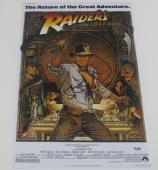 Steven Spielberg Signed 12x18 Photo Indiana Jones Poster  Autograph Proof Psa A