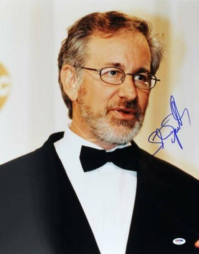 Steven Spielberg Signed 16X20 Photo Autographed PSA/DNA #U70563
