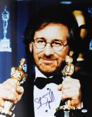 Steven Spielberg Signed 16X20 Photo Autographed PSA/DNA #U70564