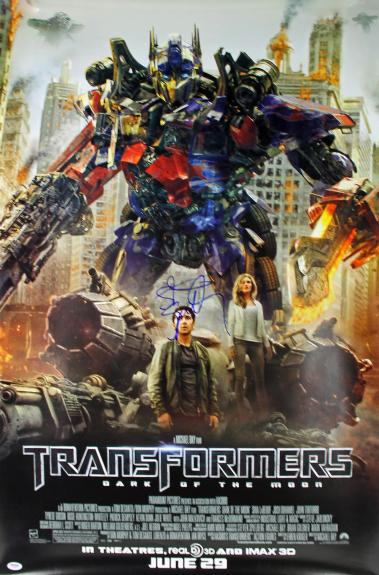 Steven Spielberg Signed 27x40 Transformers One Sheet Poster PSA/DNA #Z58898