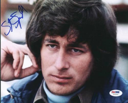 Steven Spielberg Signed 8X10 Photo Autographed PSA/DNA #U70004