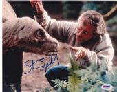 Steven Spielberg Signed 8x10 Photo Jurassic Park Authentic Autograph Psa/dna