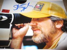 STEVEN SPIELBERG SIGNED AUTOGRAPH 11x14 PHOTO INDIANA JONES DIRECTING COA X5