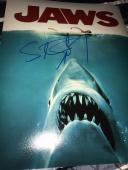 STEVEN SPIELBERG SIGNED AUTOGRAPH 11x14 PHOTO JAWS POSTER PHOTO IN PERSON COA Z1