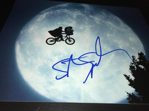 STEVEN SPIELBERG SIGNED AUTOGRAPH 11x14 POSTER PHOTO ET TERRESTRIAL MOVIE AUTO D