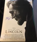 STEVEN SPIELBERG SIGNED AUTOGRAPH ORIGINAL DS LINCOLN FULL 27x40 POSTER BECKETT