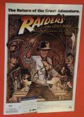 Steven Spielberg Signed Autographed 12x18 Poster Indiana Jones Proof PSA/DNA COA