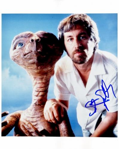 Steven Spielberg Signed - Autographed E.T. Director 8x10 inch Photo - Guaranteed to pass JSA