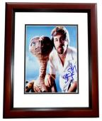 Steven Spielberg Signed - Autographed E.T. Director 8x10 inch Photo MAHOGANY CUSTOM FRAME - Guaranteed to pass PSA or JSA - Jaws, ET, Indiana Jones, Schindler's List, Jurassic Park