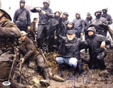 Steven Spielberg SIGNED IN PERSON 11x14 Photo Private Ryan PSA/DNA AUTOGRAPHED