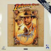 Steven Spielberg Signed Indiana Jones Laserdisc Cover BAS #D43215