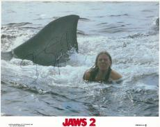 Steven Spielberg Signed Jaws 2 Autographed 8x10 Lobby Card PSA/DNA #AC78240