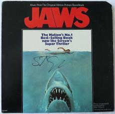 Steven Spielberg Signed JAWS Autographed Record Album (PSA/DNA) #T68978