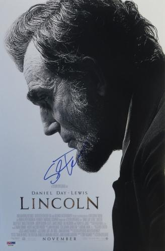 Steven Spielberg Signed LINCOLN Autographed 12x18 Movie Poster PSA/DNA #AA21548